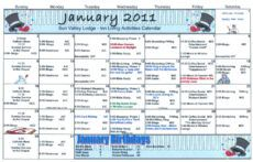 free january assisted living activity calendar  welcome to sun assisted living menu template sample