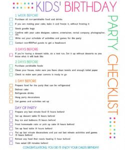 Party Planning Menu Template Doc