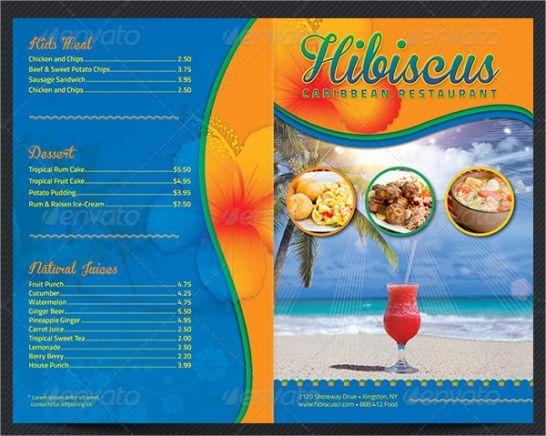 printable 14 takeaway menu designs and examples  psd ai  examples takeaway menu template pdf