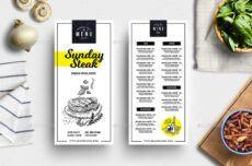 printable 28 takeaway menu designs and examples  psd ai  examples takeaway menu template doc