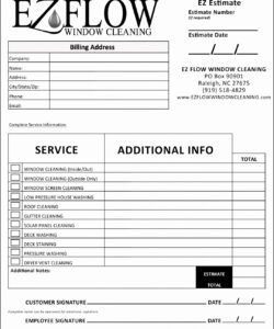 Printable Cleaning Job Application Form Template Excel Example