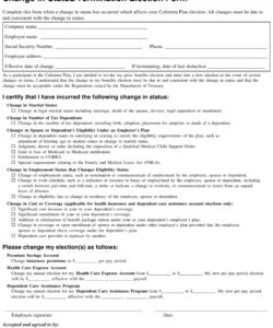 Printable Employee Address Change Form Template Pdf Example