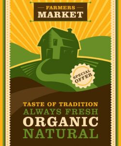 Printable Farmers Market Poster Template Word Sample
