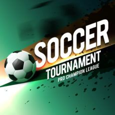sample soccer tournament game poster flyer design  download free soccer tournament poster template doc
