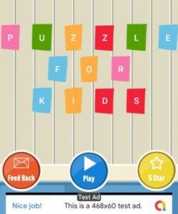 Editable Kids Menu Games Template