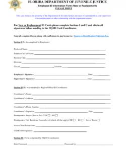 Printable New Employee Data Form Template Pdf Sample
