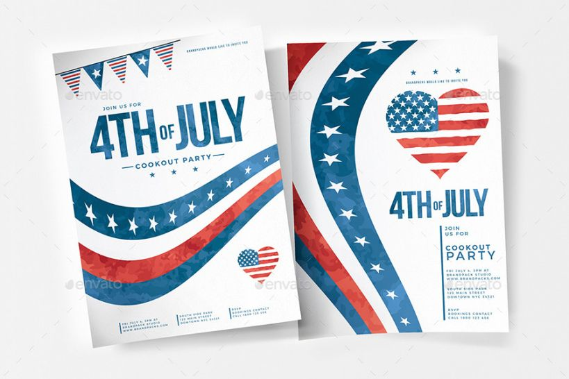 Best 4Th Of July Menu Template Doc Example