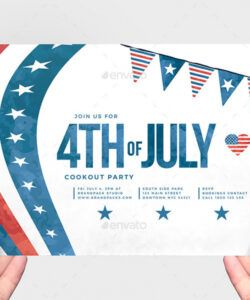 Free 4Th Of July Menu Template Excel Example