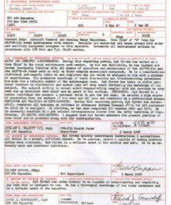 Costum Af Form 910 Template Excel Example
