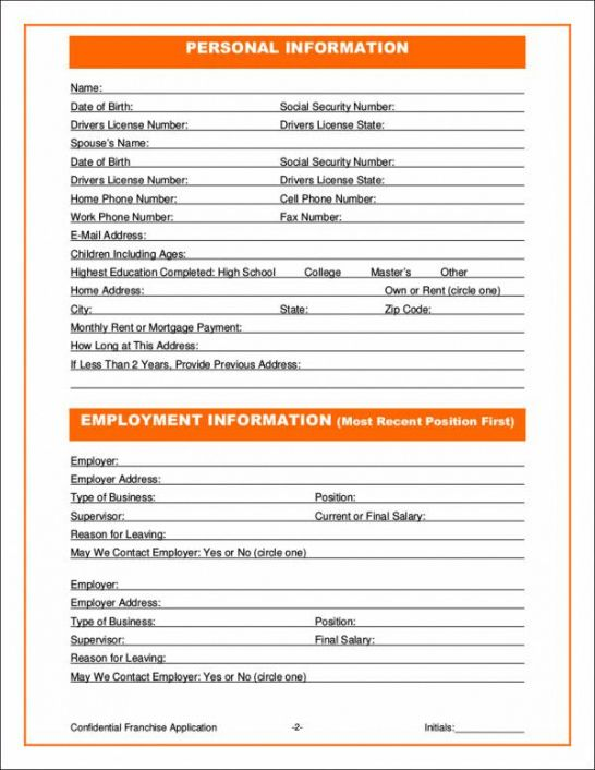 Costum Html Order Form Template Excel Example