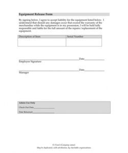Free Photo Release Form Template For Business Pdf